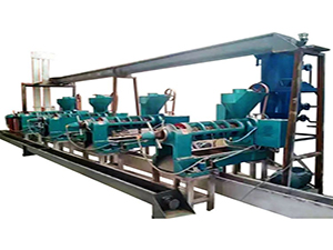 best screw oil press machine expeller for vegetable oil production
