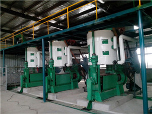 groundnut oil plant, groundnut oil plant